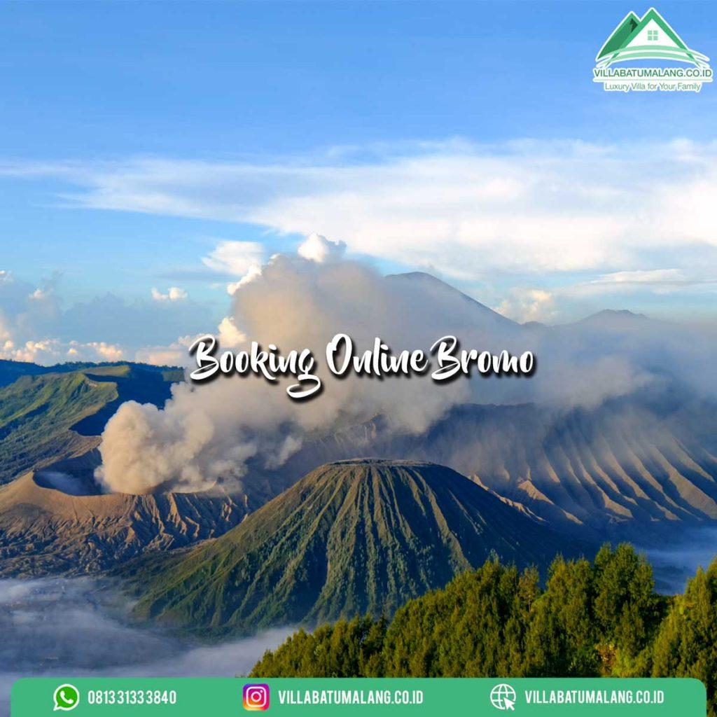 Cara booking online bromo